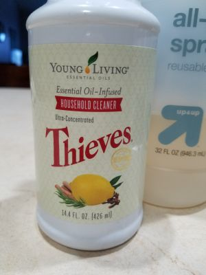 Young Living Thieves Oil Cleaner