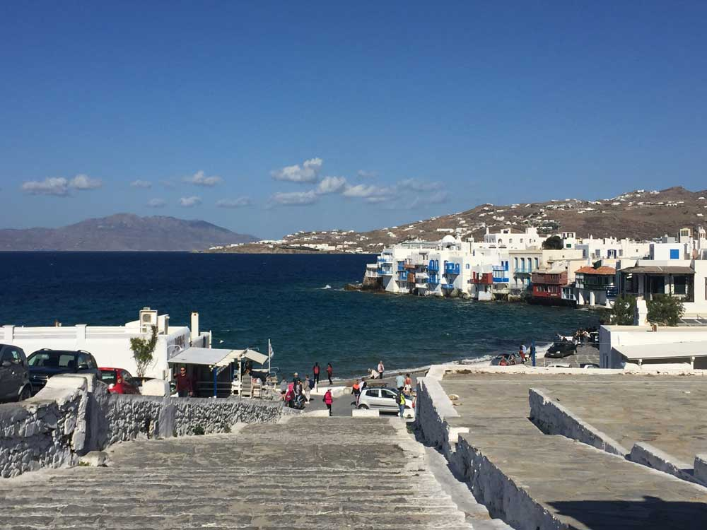 Grand Mediterranean Cruise Norwegian Spirit Mykonos Greece