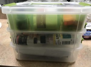 Organizing Kit Travel Box Top