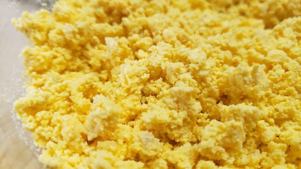 Mashed Egg Yolks