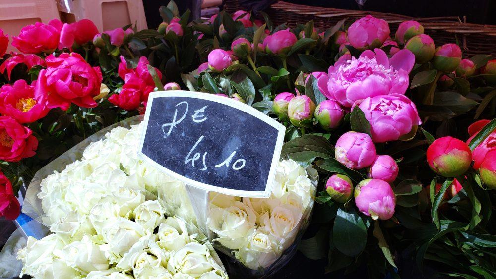 Flower Market Nice France