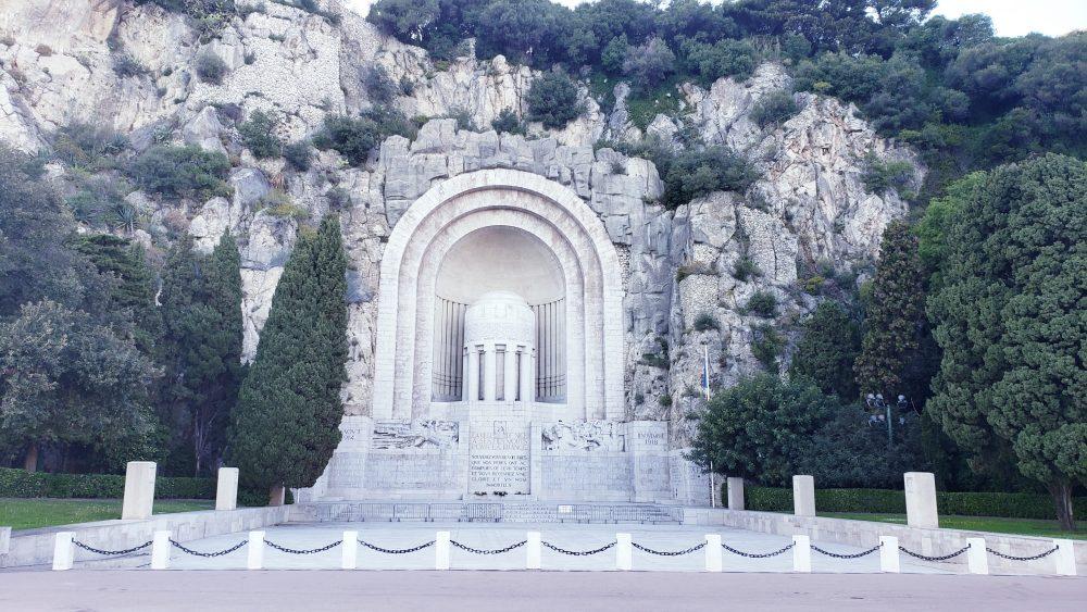 War memorial Nice France