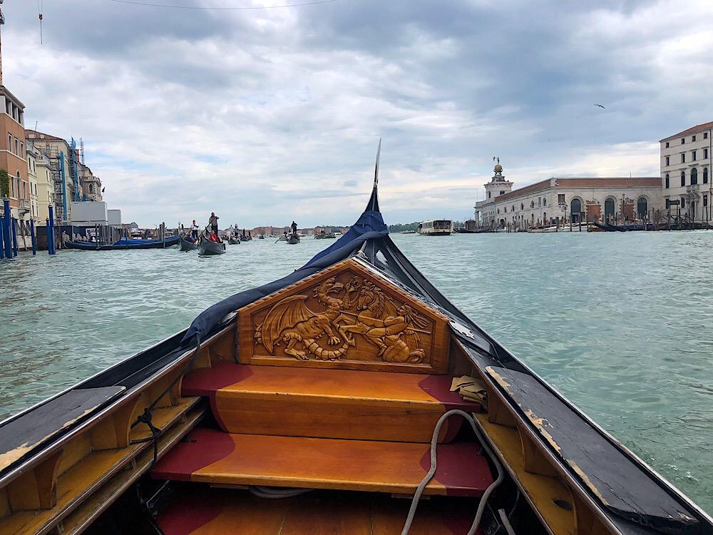 Grande Canal Gondola Venice Italy