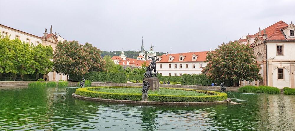 Wallenstein Gardens Prague Czech Republic