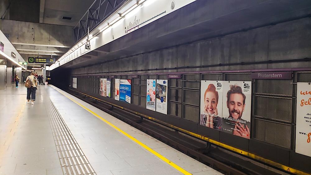 Train Station Platform Vienna Austria