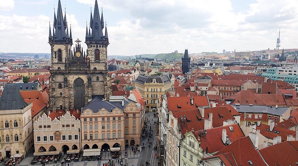 Church of our Lady Before Týn Prague Czech Republic
