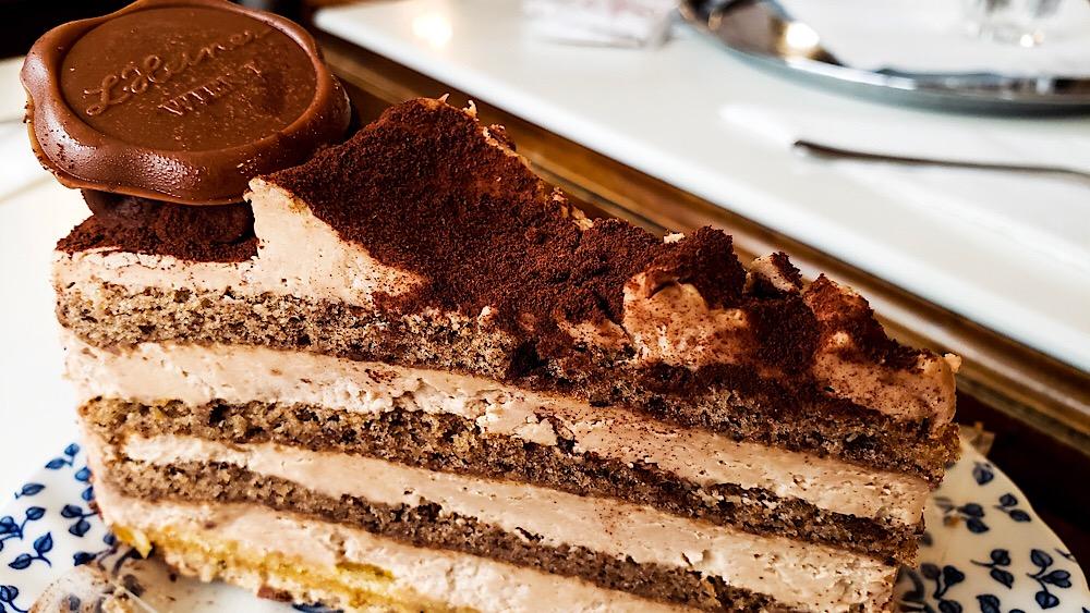L. Heiner Chocolate Cake Vienna Austria