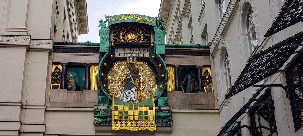 Anchor Clock Vienna Austria