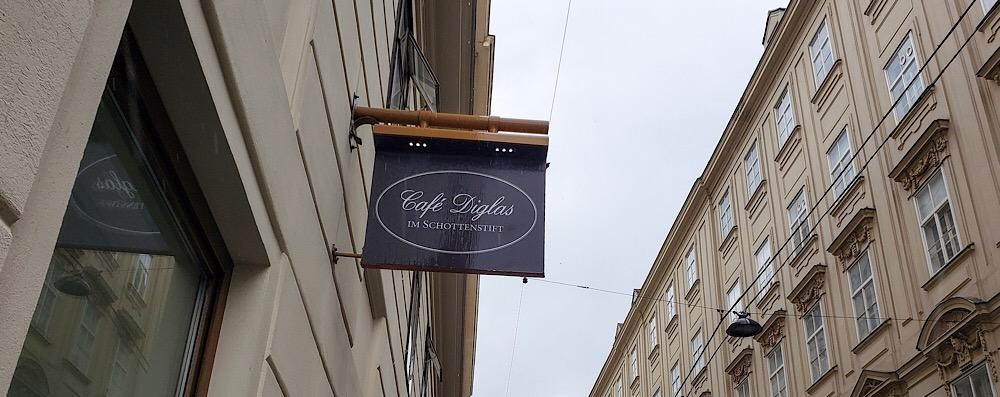 Cafe Diglas, Vienna Austria