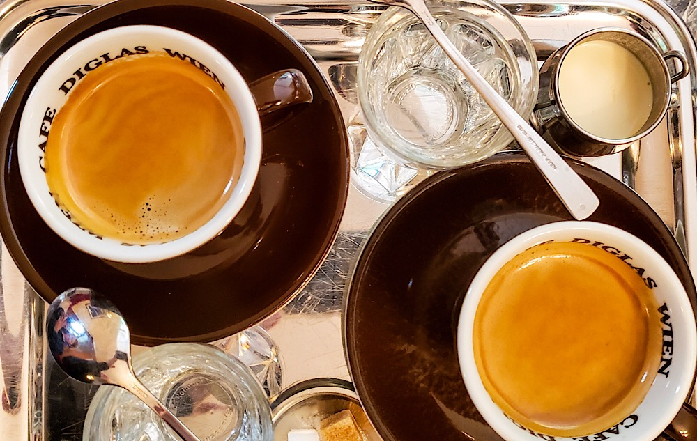 Cafe Diglas Coffee Vienna Austria
