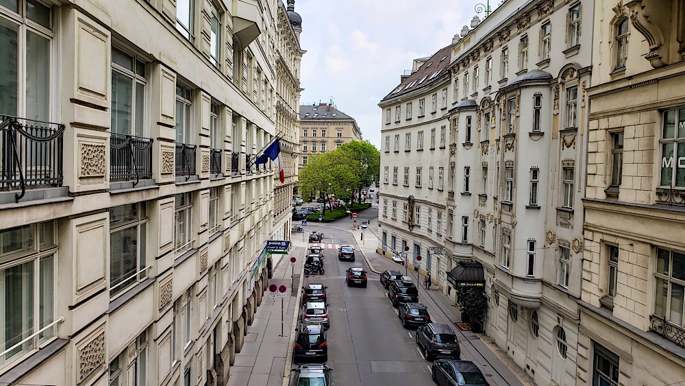 View of Street, Vienna, Austria