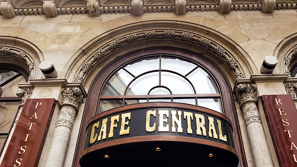 Cafe Central Vienna Austria