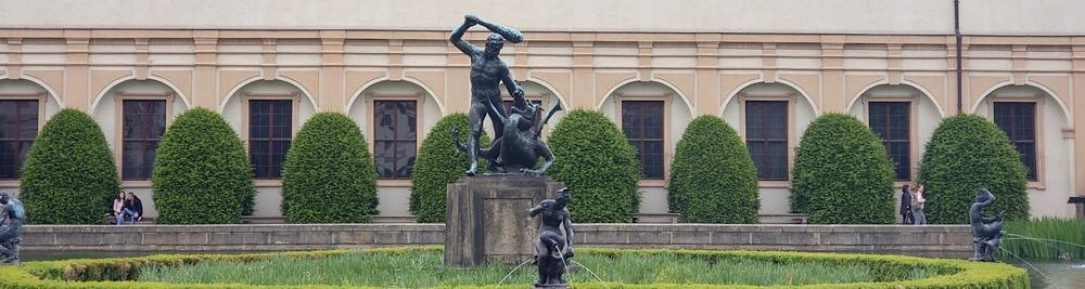 Hercules Statue Prague Czech Republic