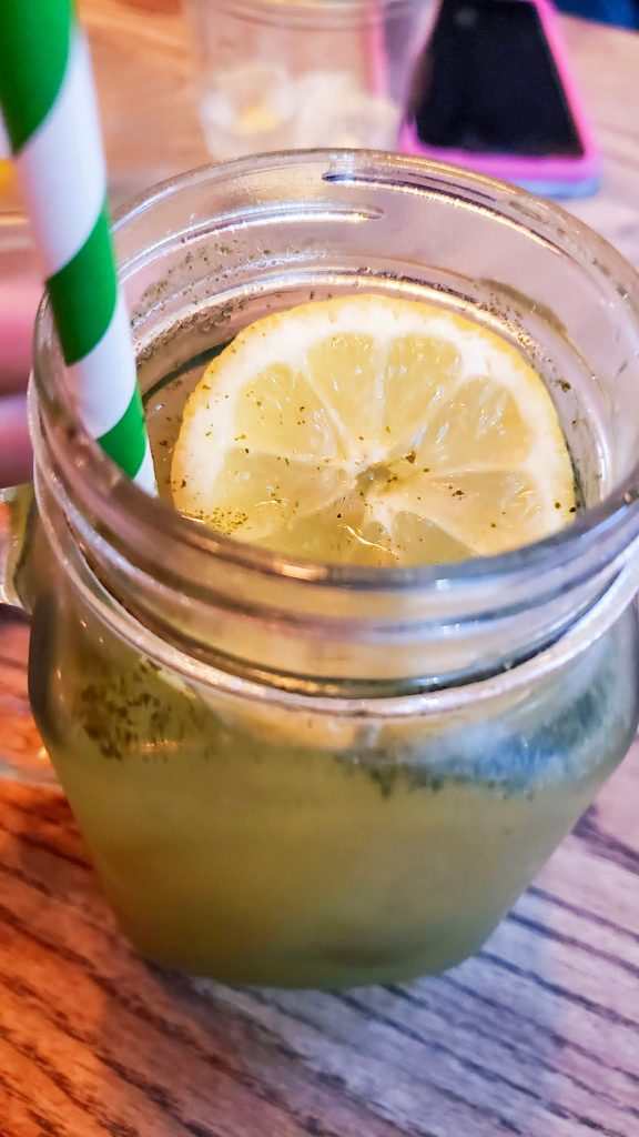 Honest Burger Mint Lemonade London UK