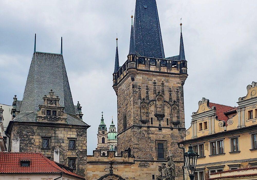 Lesser Town Bridge Tower Prague Czech Republic