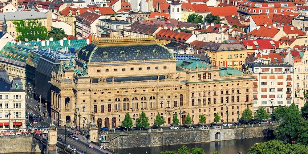 National Theatre Prague Czech Republic