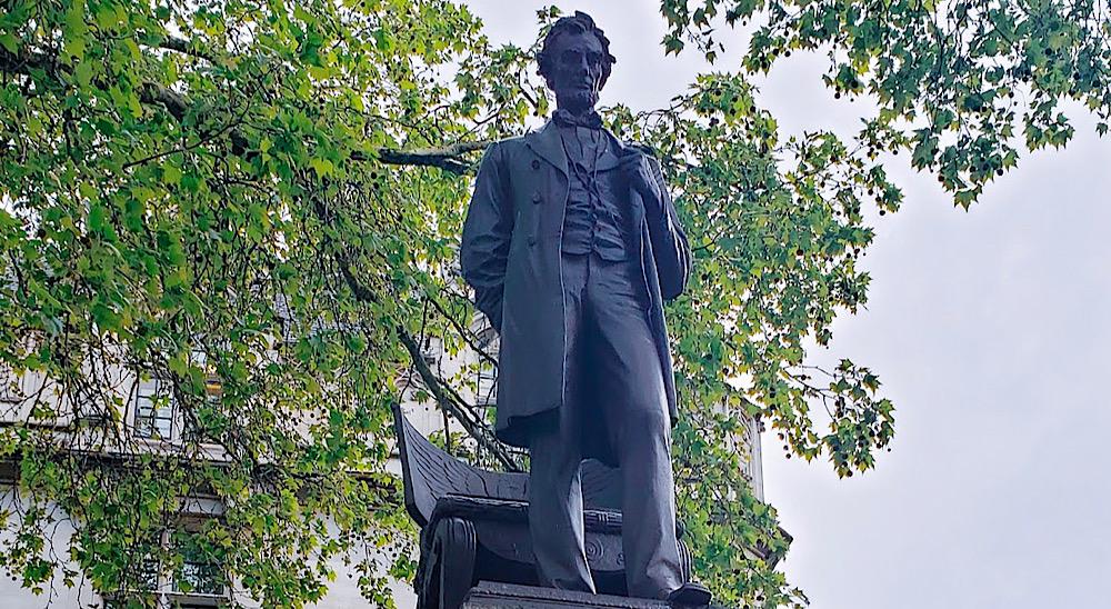 Abraham Lincoln Statue London UK