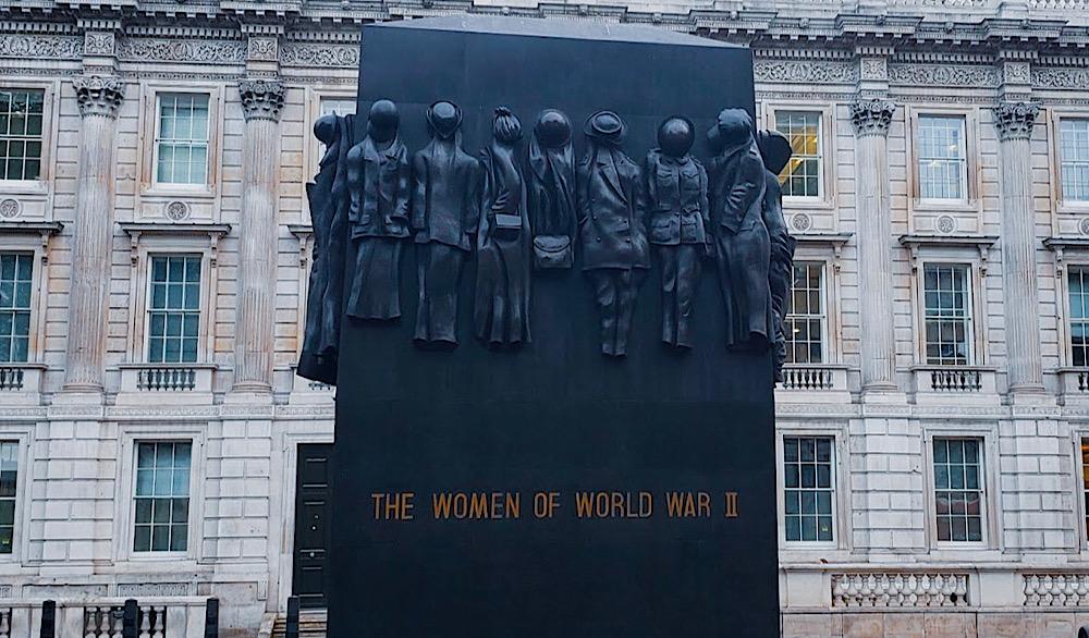 Women of World War 2 Monument London UK