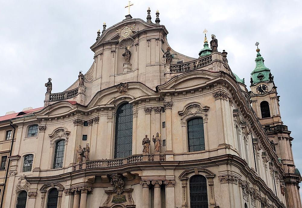 St. Nicholas Church Prague Czech Republic