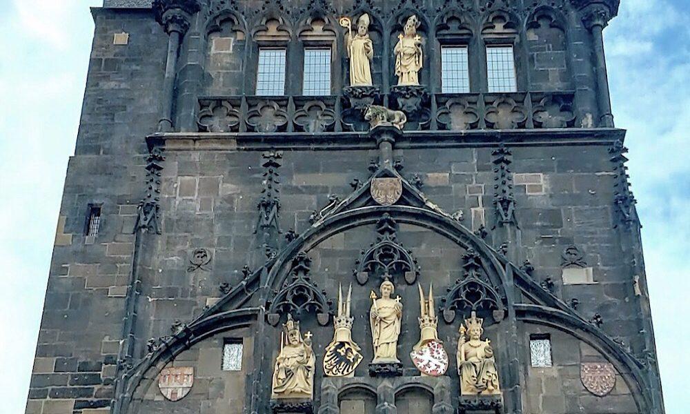 Old Town Bridge Tower Prague Czech Republic