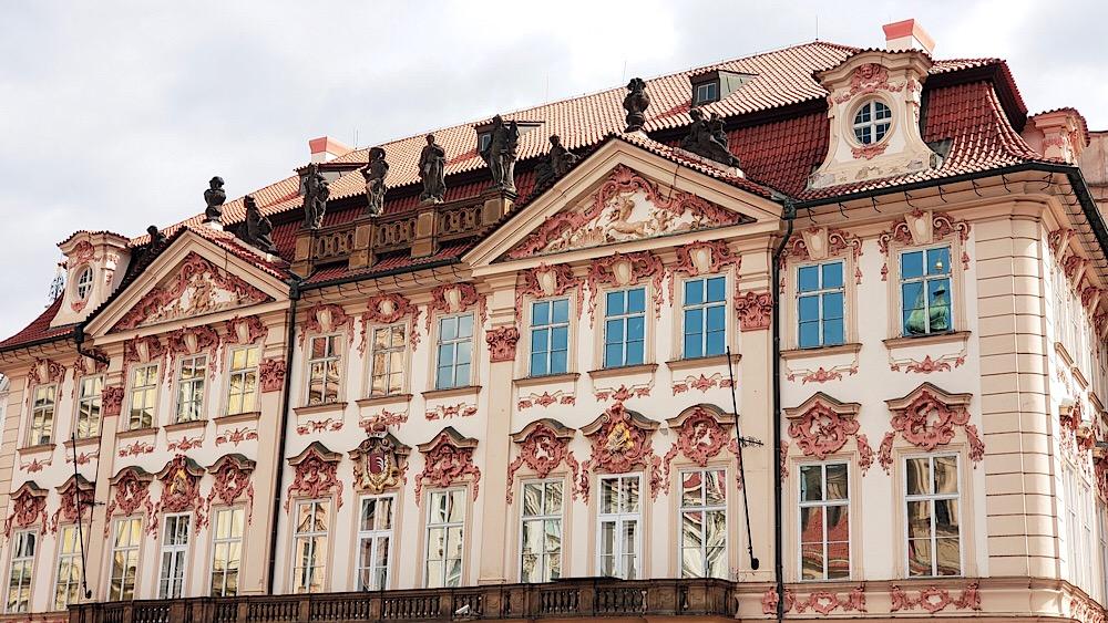 Kinský Palace Prague Czech Republic