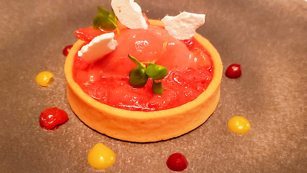 Galvin La Chapelle Strawberry Tart London UK