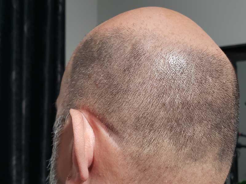 Pacific Shaving Cream Before Left