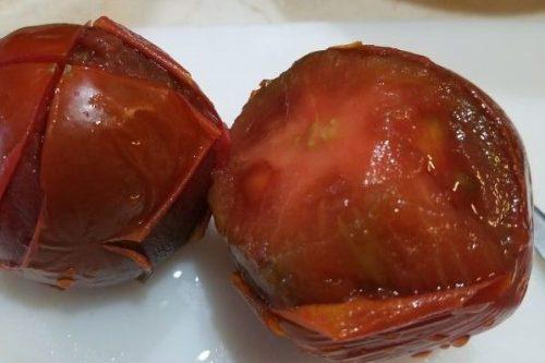 Blanching Tomatos